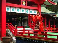 赤間神宮で天皇陛下ご即位30年祝う祭事