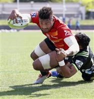 日本代表候補、多彩な攻撃で雪辱 ラグビー強化試合