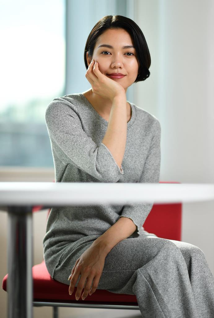 二階堂ふみさん(佐藤徳昭撮影)