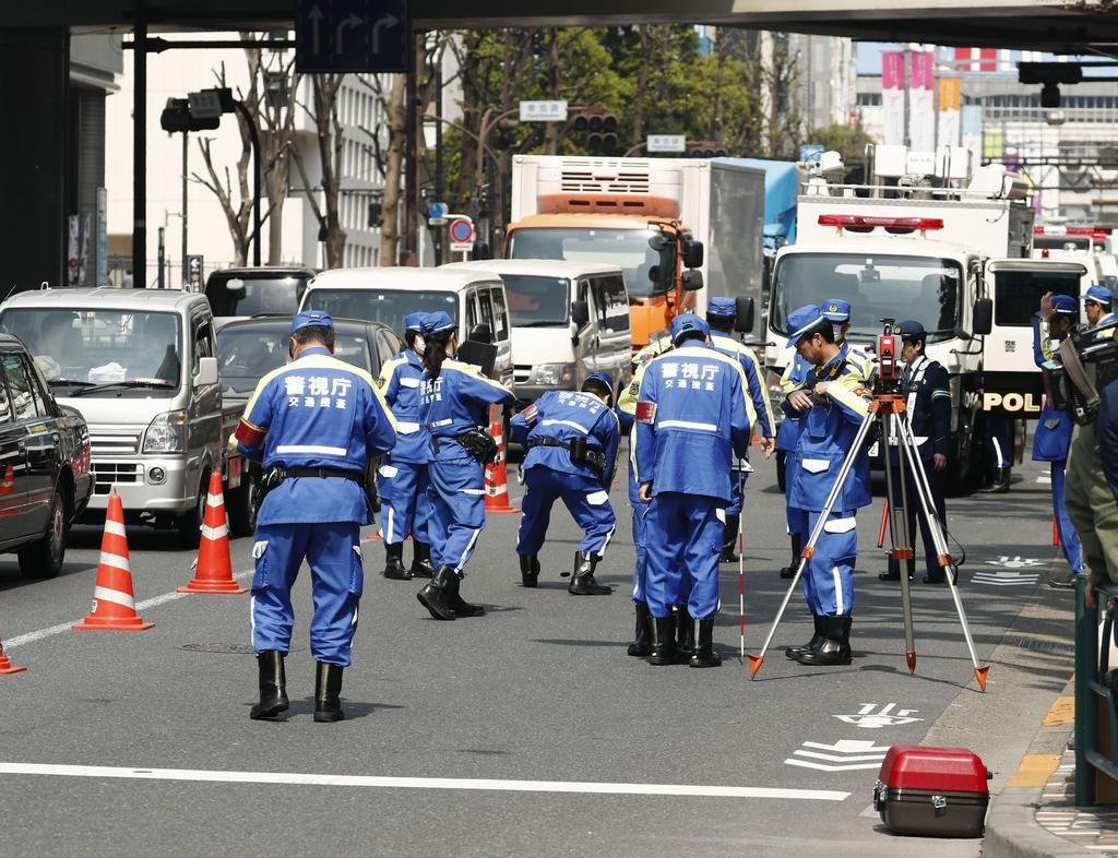 池袋暴走事故で状況捜査 都道通行止め、警視庁 - 産経ニュース