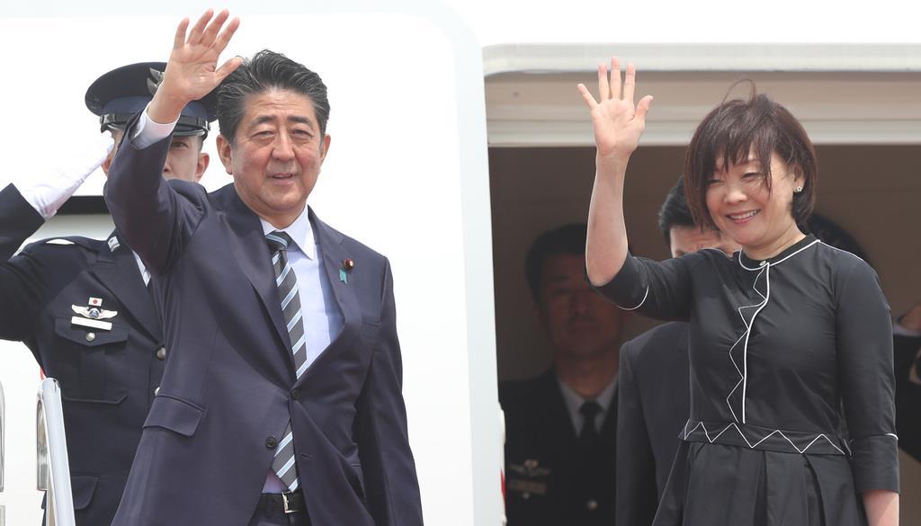 安倍晋三首相が欧米歴訪に出発 - 産経ニュース