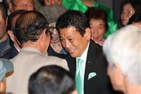 八尾市長選 松井氏のお膝元で維新新人が初当選