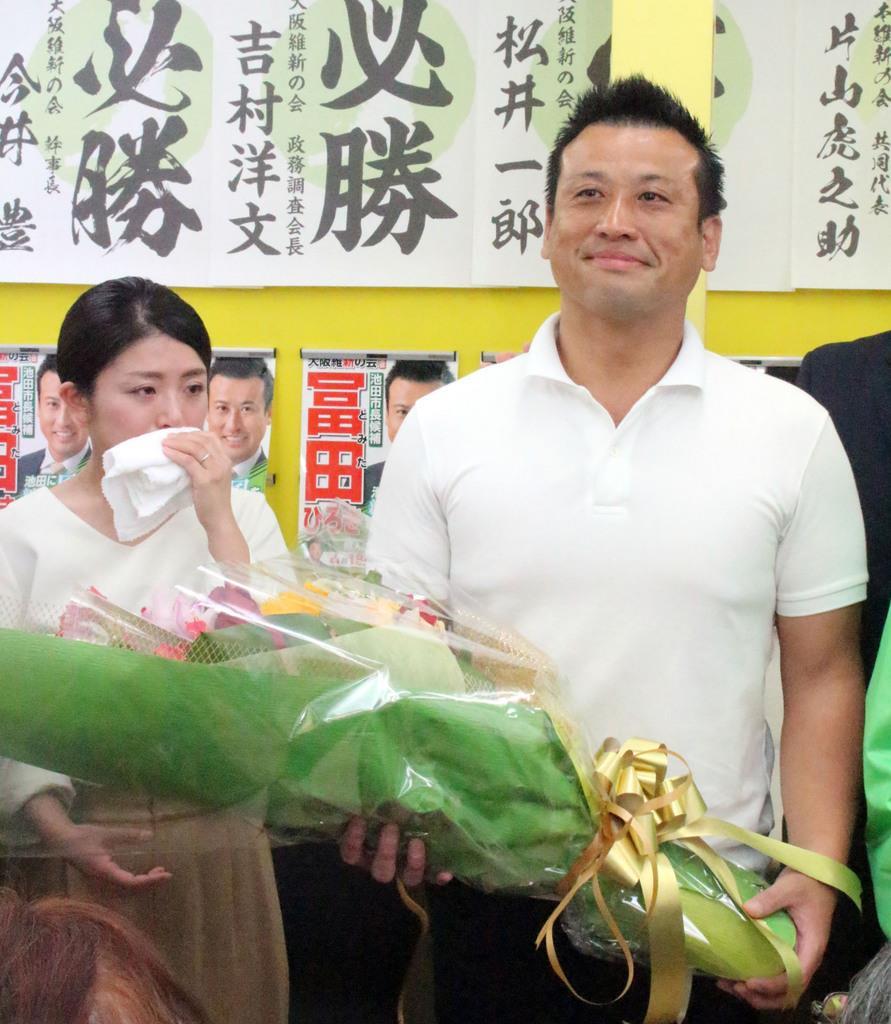 【統一地方選】池田市長選、世襲批判の大阪維新新人が初当選 「倉田ブランド」突き崩す