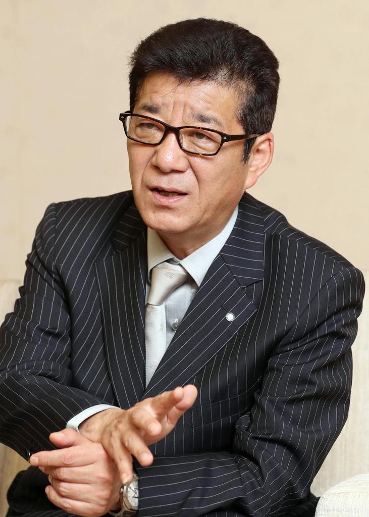維新代表・松井一郎大阪市長「堺市含めた成長の中心部をつくる」(1/4ページ) - 産経ニュース