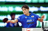 吉村和、世界7位ブラジル選手に屈す 兄と挑んだ世界卓球