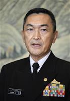 海自・中国海軍トップが10年ぶり会談 「旭日旗めぐる要請なし」と海幕長