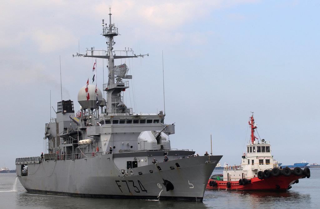 フランス海軍のフリゲート艦「バンデミエール」(ロイター)