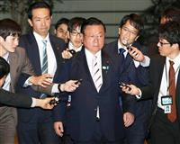桜田氏、県連会長退任へ 後任に渡辺復興相 千葉