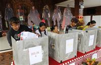 インドネシアの選管250人超死亡 大統領選と総選挙のW選で過労