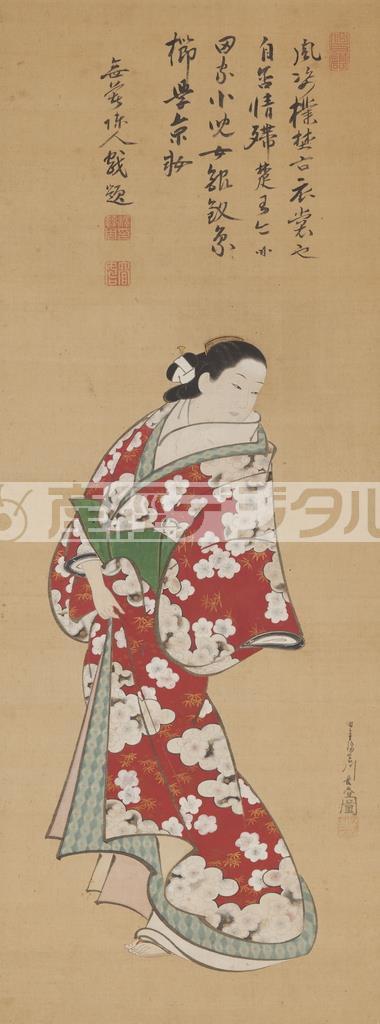 宮川長春「立ち美人」(光ミュージアム蔵)