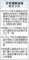 日米首脳会談 日朝会談へ全面協力 G20来日、トランプ氏快諾