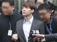 薬物使用容疑を大筋認める 韓国男性アイドルグループ「JYJ」元メンバー