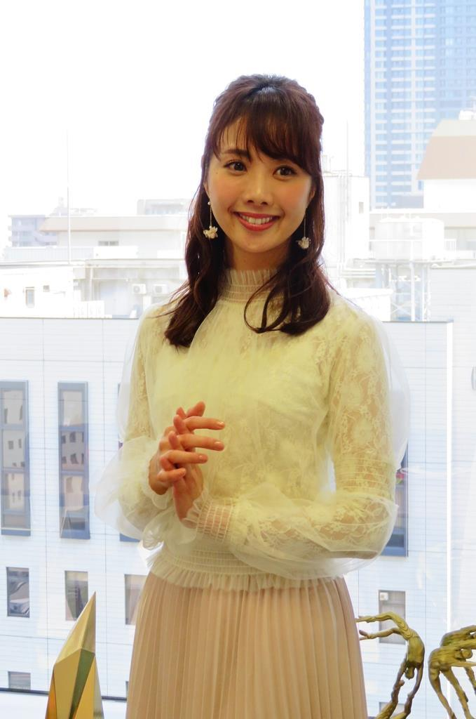 ライブのPRで来阪した宝塚歌劇団の元星組娘役トップ、妃海風