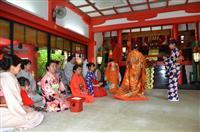 来月3日に皇室ゆかり令和の「先帝祭」 下関・赤間神宮でリハーサル