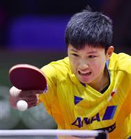 【令和時代の主役】卓球男子・張本「もっと注目されるスポーツに」