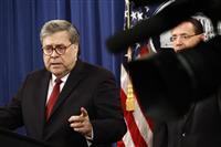 露干渉疑惑で米司法長官が証言 大統領の司法妨害を改めて否定 「証拠ない」
