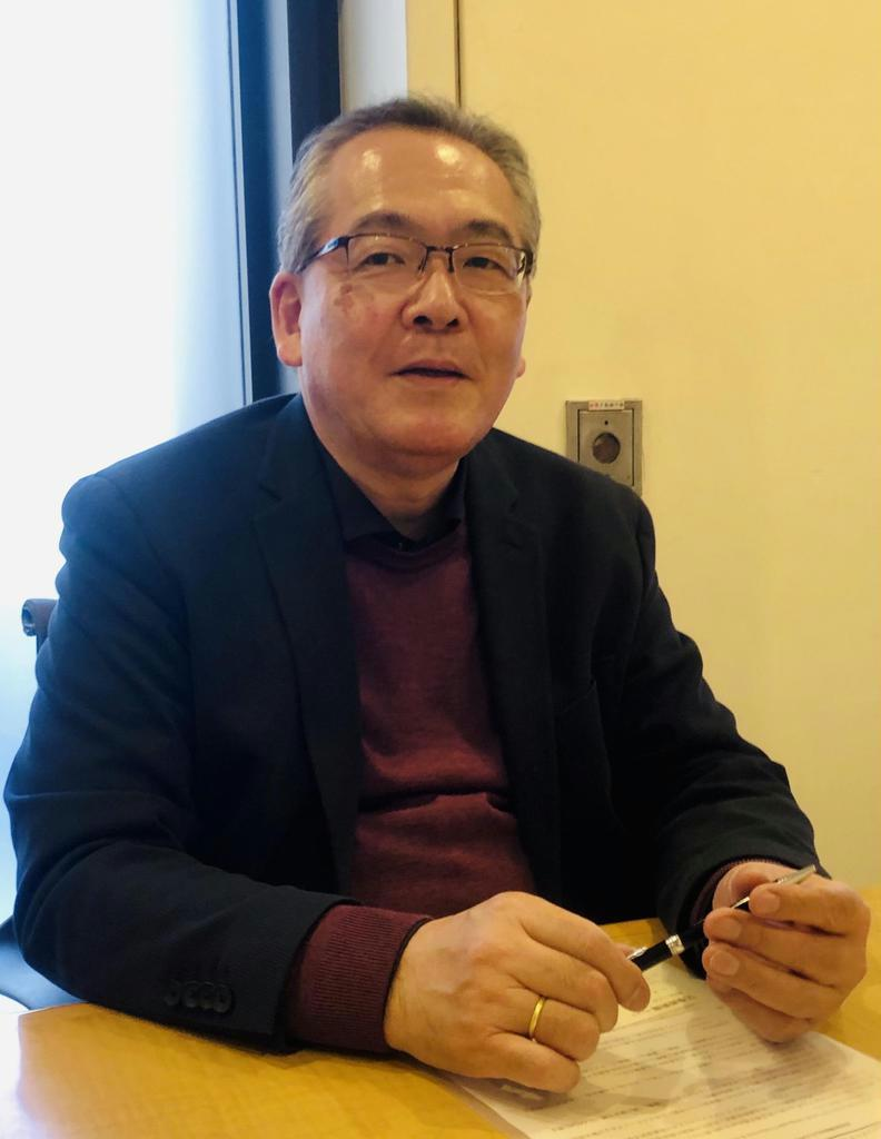 WBJの池田宏之バイスプレジデントは「世界で活躍する監督やプロデューサーを育てたい」と語る (高橋天地撮影)
