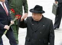 北朝鮮が短距離ミサイル発射 東海岸から日本海に向け