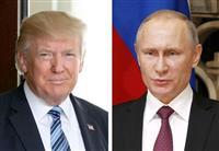 トランプ氏とプーチン氏が電話会談 露に対北制裁圧力での貢献要請
