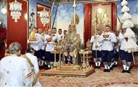 タイ国王の戴冠式始まる 69年ぶり 行事は3日間
