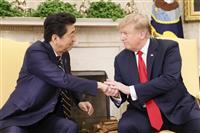 安倍首相、今夜トランプ米大統領と電話会談