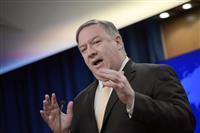 北朝鮮発射「脅威与えず」 米国務長官、交渉継続を強調