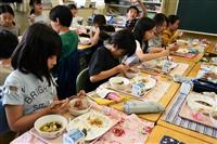 給食で新元号をお祝い 埼玉・三芳の全小中学校で