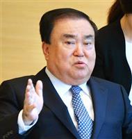 韓国国会議長の特使、13日訪日で調整