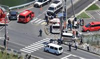 大津市で保育園児の列に車 2歳の園児2人死亡、14人が重軽傷
