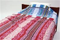 鮮やかな10色織りタオルケットを期間限定価格で