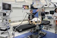 神戸ポートアイランドに先端医療拠点 産業ガス大手、16日開設 8Kの内視鏡展示も