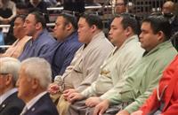大相撲夏場所、土俵祭りで安全祈願 白鵬は欠席