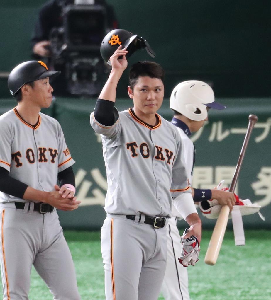 開幕からの連続試合出塁セ記録更新の巨人・坂本、三冠王も視界に ...