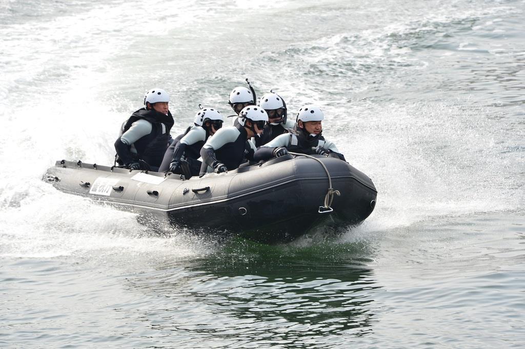 警視庁が14日に発足させる臨海部初動対応部隊(警視庁提供)