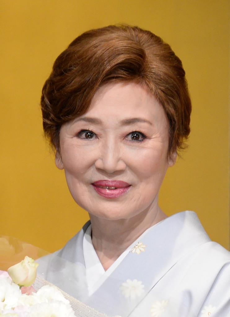 女優の浜木綿子さん=東京・丸の内(宮川浩和撮影)