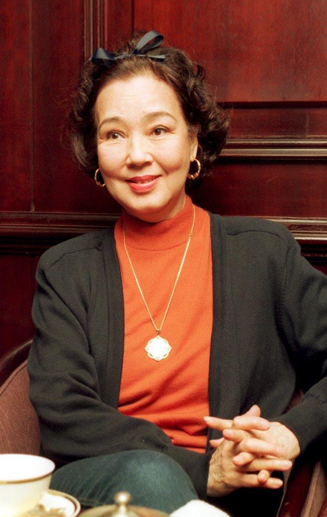 女優・京マチ子さん
