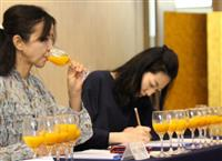 「有田市認定みかんジュース」に7品 味や香り…ソムリエら高評価