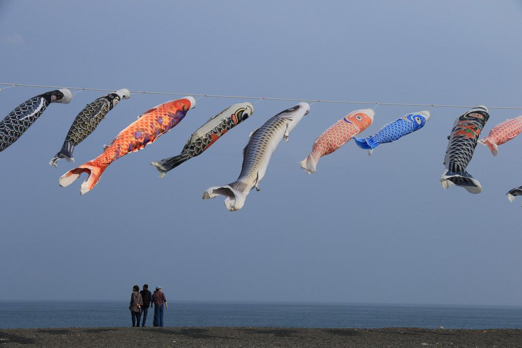 ベスト賞 「鯉・太平洋を泳ぐ」 堺市西区 山口茂さん