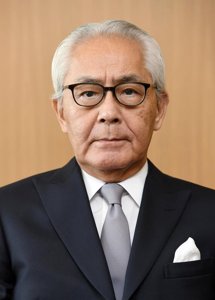 フジテレビ会長・CEOに就任する宮内正喜氏=東京都港区(宮川浩和撮影)