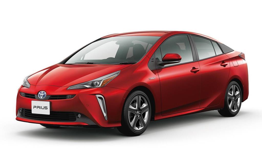 トヨタ自動車が昨年12月に部分改良して発売した最新型の「プリウス」