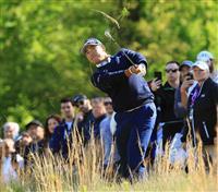 松山が7打差17位 ウッズは51位 全米プロゴルフ