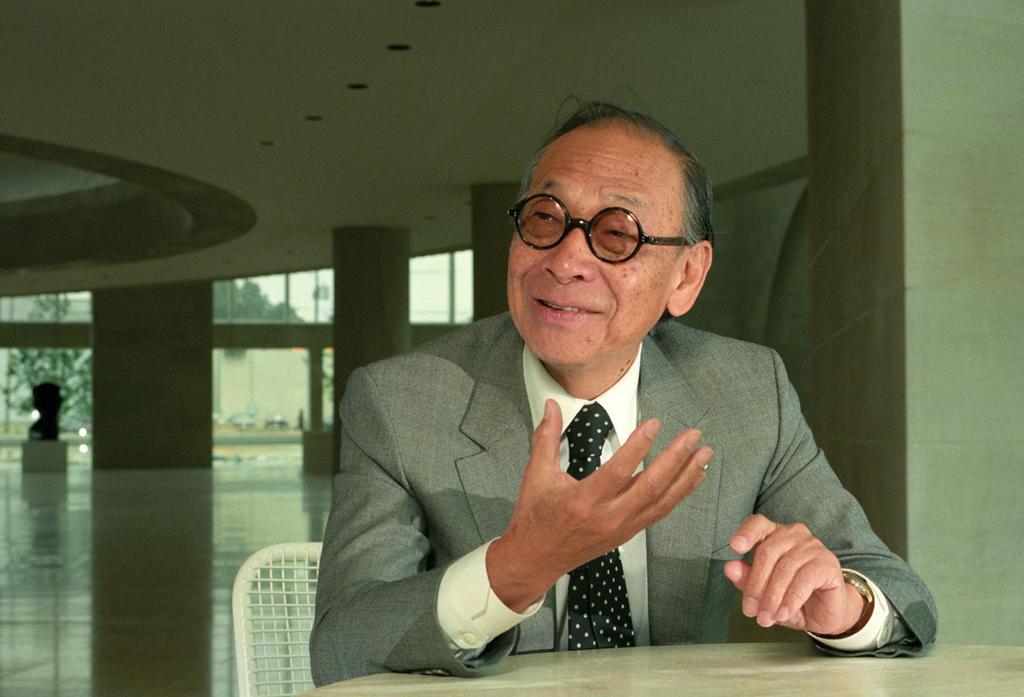 イオ・ミン・ペイ氏(廣澤淳夫撮影)