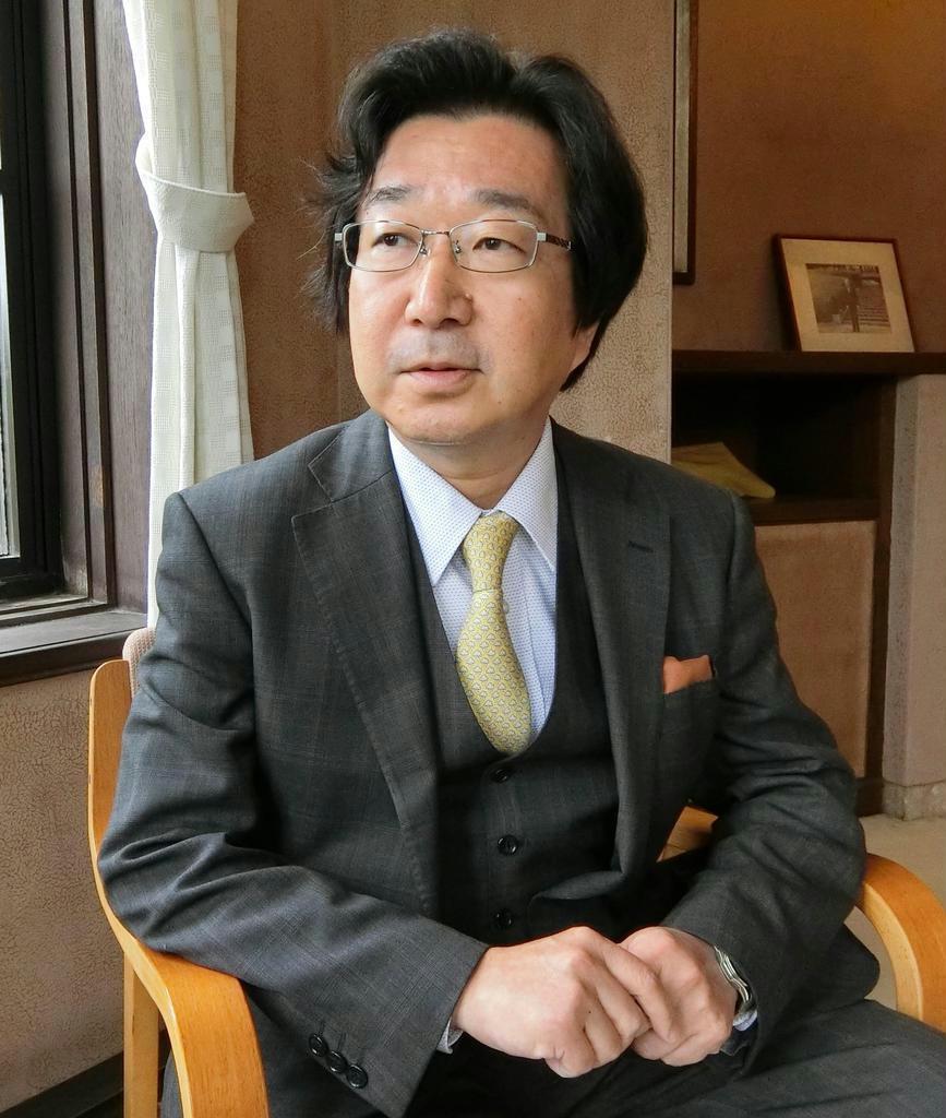 文芸評論家・富岡幸一郎氏