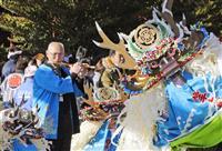 震災後、人の絆つなぐ魅力 岩手・大槌の鹿子踊