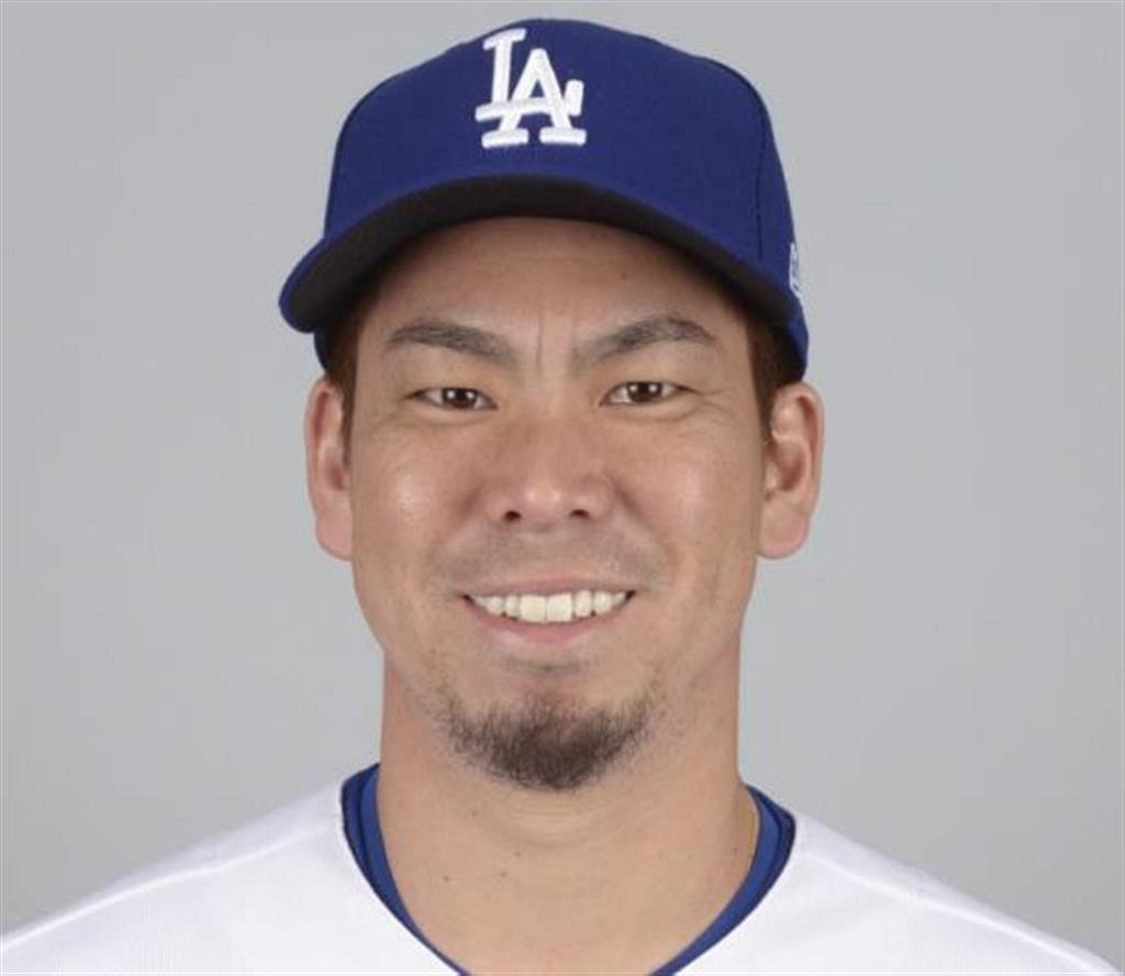 ドジャースの前田健太投手(ゲッティ=共同)