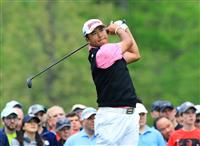 松山が10位浮上 ウッズは予選落ち 全米プロゴルフ