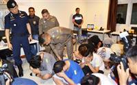 タイの振り込め拠点 日本人15人に詐欺容疑で逮捕状 警視庁