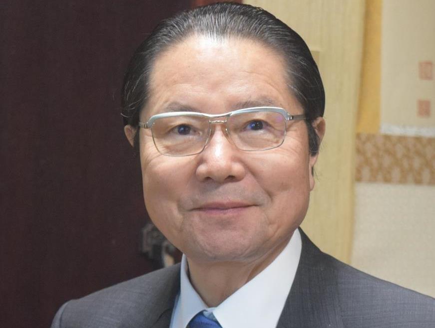 衛藤征士郎氏(村上智博撮影)