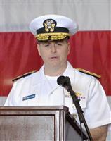 米第7艦隊揚陸部隊の新司令官にケイチャー少将 佐世保で交代式