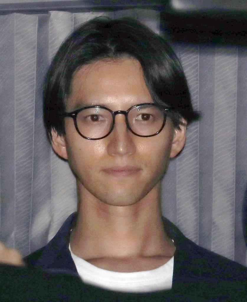 アイドルグループ「KAT-TUN」の元メンバー、田口淳之介被告=5月22日午後、東京都千代田区(納冨康撮影)